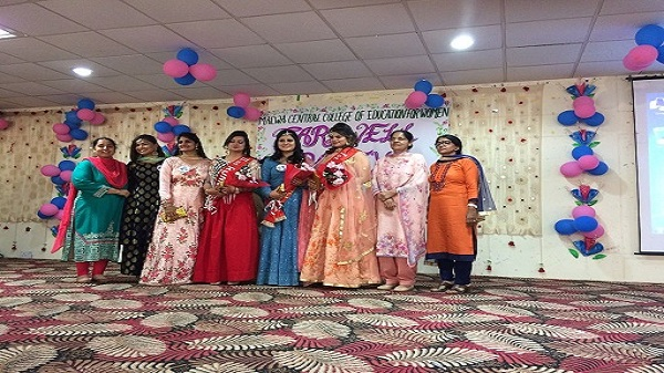 Farewell function was organised by the Malwa Central College of Education for Women on 21st April, 2018