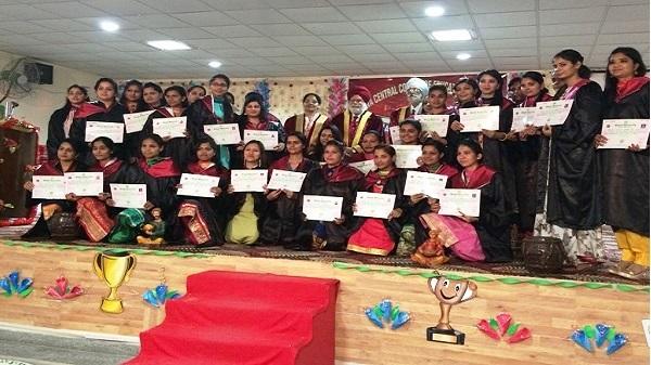 60th Annual convocation of Malwa Central College of Education for Women was held on 12 March, 2018 in the college Centenary Hall.