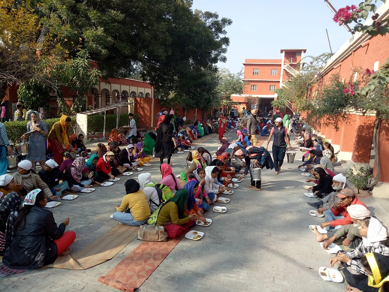 'Parkash Utsav' is celebrated on 25-12-2017 at Malwa Central College of Education for Women, Ludhiana.