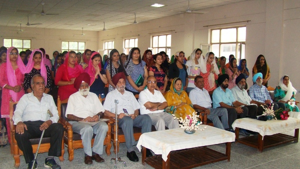 Senior Citizens' day Celebrations
