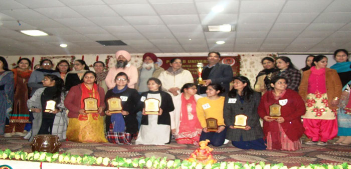 Over all trophy of inter zonal skill in teaching and on the spot teaching aid preparation competitions was bagged by Malwa Central college of education for women, Ludhiana.