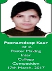 poonam poster making shining